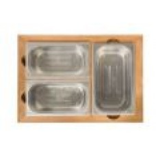 elektrische barbecue indu+ container set teak
