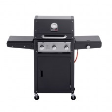 Grand Hall Gasbarbecue | Xenon 3 black