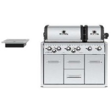 Broil King Gasbarbecue | Imperial XL Inox build in met kast