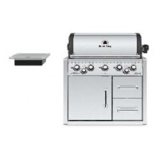 gas barbecue BROIL KING  IMPERIAL 590 inox build in met kast