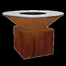 Ofyr Houtskool Barbecue en Sfeervuur | Cortenstaal XL 150