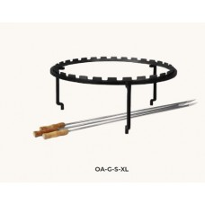 Ofyr horizontale skewer of spiezen set voor  100cm of xl