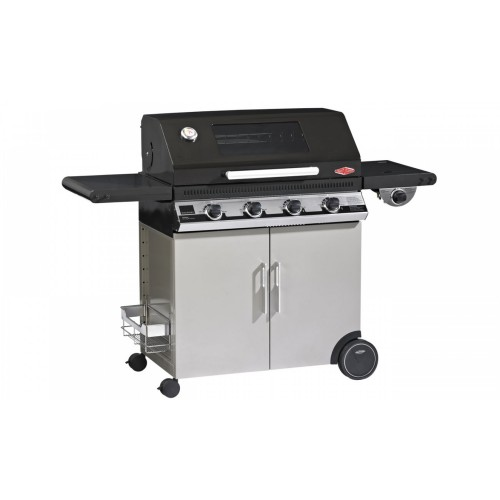 Gasbarbecue beefeater discovery email 4 bnr 1100e met trolley - Plancha trolley gas met deksel ...