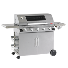 gasbarbecue Beefeater Discovery full inox 5 bnr (1100s) met trolley