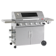 Beefeater Gasbarbecue | Discovery 1100s 5Brander Full Inox met Trolley