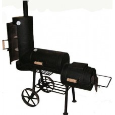 houtbarbecue Oklahoma Joe Wild mini chuckwagon