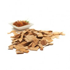 gas barbecue Hickory wood chips (hout)