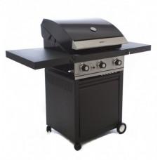 Grand Hall Gasbarbecue | GTI 3 met Opvouwbare Zijtafel