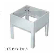 OneQ Leg mini inox