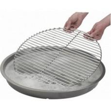 houtskool barbecue Dancook rooster reinigingsschaal